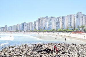 Cerca de um milhão e duzentas mil pessoas devem visitar o Guarujá neste feriado