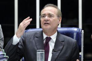 Renan Calheiros gravou um vídeo nesta semana criticando o presidente Michel Temer