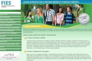 Os recursos do Fies são destinados a financiar alunos em cursos superiores privados, desde que esses tenham avaliação positiva no MEC