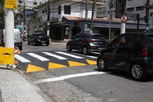 Ação é para reduzir a velocidade dos veículos e aumentar a segurança viária