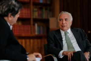 Michel Temer afirmou que não será candidato à reeleição neste ano