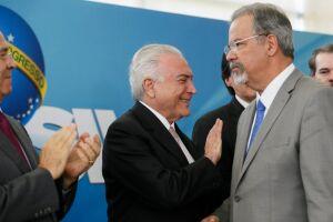 Temer disse que o governo federal não atuará apenas no Rio de Janeiro