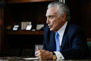 O presidente Michel Temer embarcou na manhã de hoje para São Paulo onde cumpre  agenda privada
