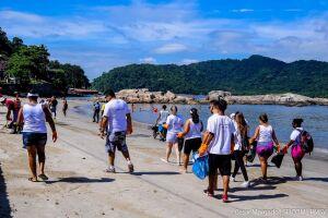 Desta vez, a ação será a partir das 10h de domingo (18), na Praia do Itararé