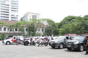 A área será desocupada para a instalação do futuro batalhão da PM na Enseada (Guarujá)