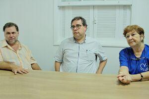 Comissão é formada por José Chucri Neto, Eduardo Viana Júnior e Elizabeth Rovai de França