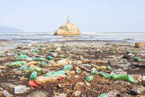 Organizações ambientais da região trabalham para tentar conter a poluição que chega aos rios e mares