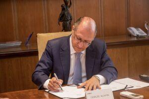 Geraldo Alckmin autorizou a licitação de moradias em Bertioga