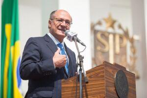 Geraldo Alckmin demonstrou preocupação com a pulverização de candidaturas de centro