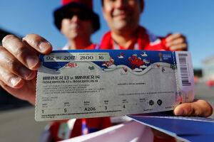 Um total de 1.303.616 ingressos para a Copa do Mundo de 2018 já foram alocados para torcedores