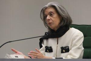 A presidente do STF, Cármen Lúcia, lembrou o Dia da Mulher