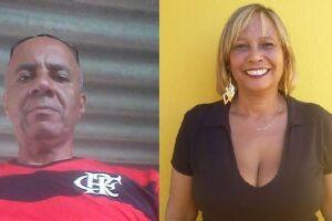Rui e Rosely moram em São Paulo e estavam à passeio em Praia Grande.