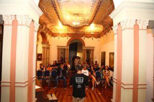 A música e a poesia marcaram a abertura da 5ª Semana da Cultura Caiçara