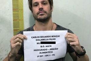 Dado está preso há 34 dias por não pagar cerca de R$ 196 mil de pensão ao filho