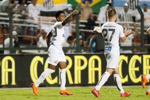 Diogo Vitor marcou o gol de empate no clássico contra o Corinthians