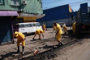 A terça-feira começará com serviços de limpeza de galerias nos bairros Saboó e Jabaquara