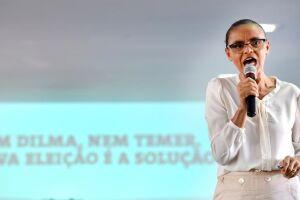 Marina alcança 13% das preferências em um cenário sem o nome do ex-presidente Lula (PT), na pesquisa Datafolha. Ela fica na segunda posição, atrás de Jair Bolsonaro (PSL)