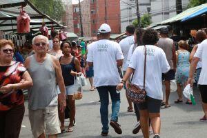 Feiras livres receberam ação educativa em Santos