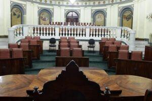 A Sala Princesa Isabel, no Palácio José Bonifácio, será restaurada