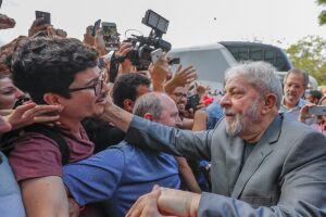 Lula está em caravana pelo sul do País