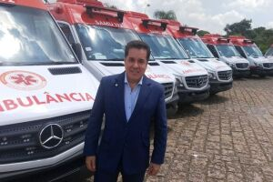 Cada ambulância está orçada em R$ 176,2 mil, totalizando investimento da ordem de R$ 1 milhão