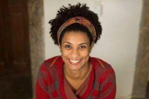 Marielle Franco foi atacada em redes sociais com inverdades sobre a sua vida.
