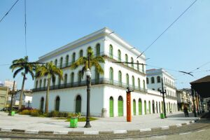 A fachada do Museu Pelé será pintada