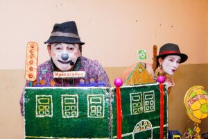 'O Passe e o Gol' é realizado pela companhia Teatro do Grande Urso Navegante