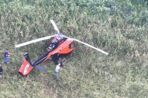 Helicóptero apreendido pela polícia pertence ao piloto Felipe Ramos Moraes