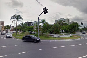 A área no canal 5 com a Afonso Pena foi sinalizada