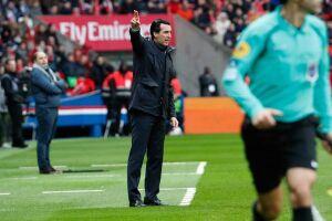 O técnico do Paris Saint-Germain, Unai Emery, adotou uma postura conciliatória e evitou novos atritos nesta sexta-feira (2)