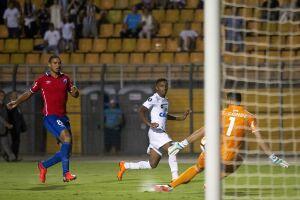 Rodrygo marcou seu primeiro gol na Libertadores