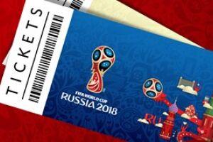 A Fifa anunciou nesta quarta-feira que 356.700 ingressos para a Copa do Mundo foram alocados a torcedores ao redor do mundo em menos de 24 horas