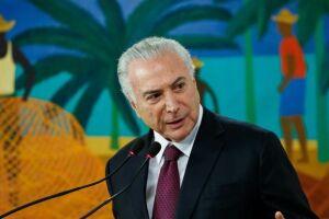 Temer diz que ataque à caravana de Lula é 'uma pena' e cria 'clima de instabilidade'