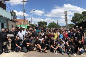 As cenas foram gravadas em Porto Alegre, no bairro Rubem Berta.