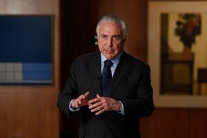 Michel Temer afirmou que o seu governo pode ter sido o melhor que o Brasil conheceu nos últimos anos