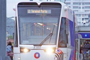 A segunda fase terá 14 estações ao longo dos oito quilômetros de extensão e vai interligar as 15 estações atuais até o Valongo