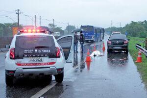 Motorista foi morto a tiros na Rodovia Anchieta