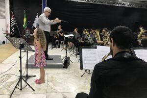 Banda Marcial preparou repertório eclético, com arranjos elaborados para formação sinfônica com obras populares e eruditas