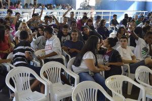 A Prefeitura promoveu a atividade aos mais de 120 alunos dos 8º e 9º anos, da Escola Municipal Lucimara de Jesus Vicente