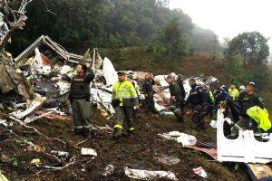 O acidente ocorreu no dia 29 de novembro de 2016 e resultou na morte de 71 das 77 pessoas a bordo