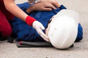 Em 2018 foram registrados 184.519 acidentes de trabalho.