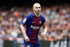 Revelado pelo Barcelona, Iniesta possui contrato vitalício com o clube catalão