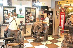 Tradição e modernidade se encontram barbearias de Santos