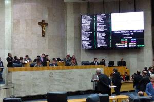 O Tribunal de Justiça de São Paulo suspendeu 1.068 cargos comissionados na Câmara