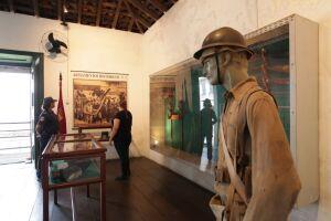 O city tour panorâmico sai às 10h e às 14h do Posto de Informações Turísticas do Gonzaga