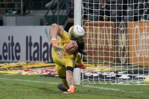 Cássio foi o capitão do Corinthians no título do Campeonato Paulista contra o Palmeiras