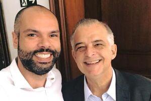 Em campos opostos na pré-campanha para o Palácio dos Bandeirantes -França tentará a reeleição e Covas apoia o ex-prefeito João Doria (PSDB)