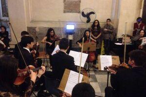 O concerto didático é uma extensão do conteúdo que os alunos estão aprendendo no Fábrica Cultural