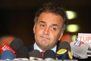 Geraldo Alckmin (PSDB) afirmou que o senador Aécio Neves (PSDB) não deve disputar a eleição deste ano